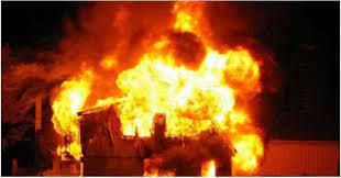 कालिकोटमा आगलागी हुँदा छ घर जलेर नष्ट