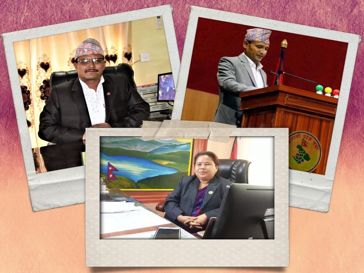 कर्णाली प्रदेशका तीन मन्त्रीको सम्पत्ति विवरण सार्वजनिक, कसको कति ?