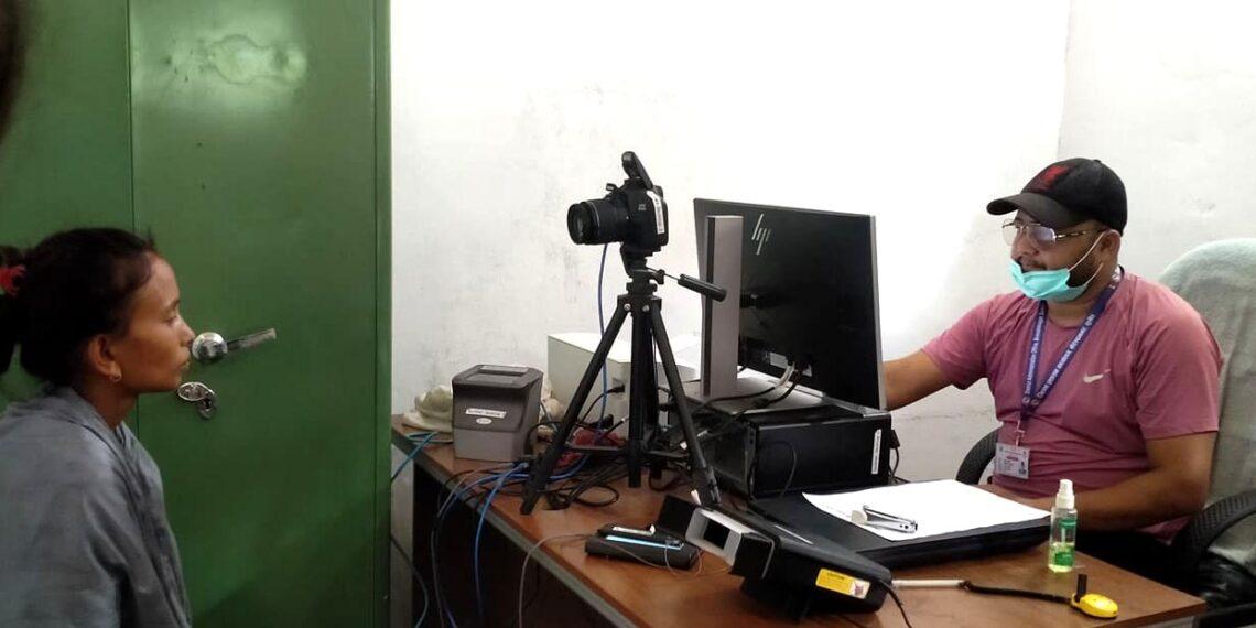 राष्ट्रिय परिचय पत्रका लागि सुर्खेतमा हालसम्म दुई हजारभन्दा बढीको विवरण दर्ता